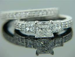 three stone wedding rings