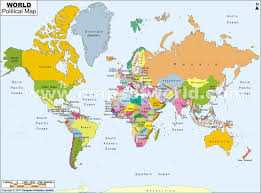 cities of the world map
