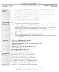 resume sample sales