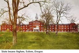 state mental hospital