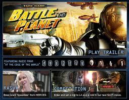 battle planet dvd