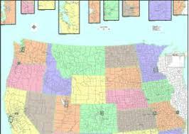 map of northwest us