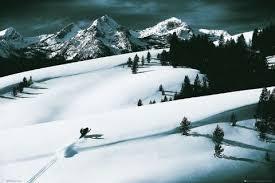 mountain snowmobile