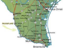south texas maps