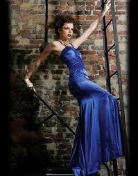 blue designer dresses