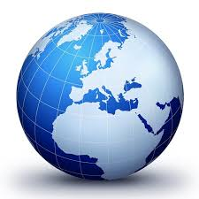 a globe of the world