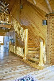 log spiral staircases