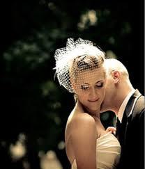 bridal face veil