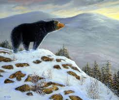 bears paintings