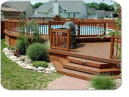 deck landscaping ideas