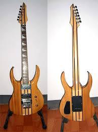 neck through guitar