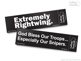 god bless our troops especially our snipers bumper sticker