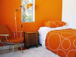 orange room design