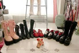 japan platform boots