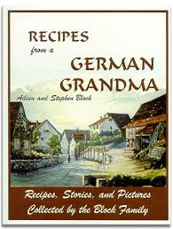 names of german food