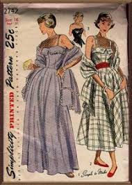 clothes of the 1950s