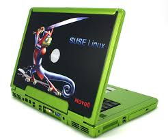 green dell laptop