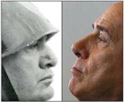 Mussolini e Berlusconi