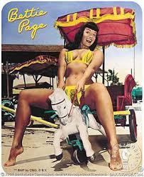 bettie page sticker