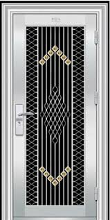 decorative steel doors