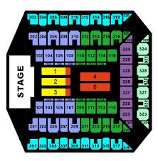 1st mariner arena seating