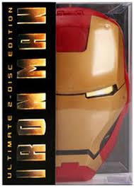 iron man mask dvd