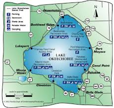 okeechobee lake map