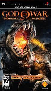 god of war psp games