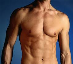ripped abs men