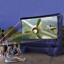projector outdoor