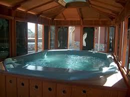 hot tub with gazebo