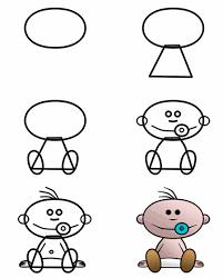 baby cartoon drawings