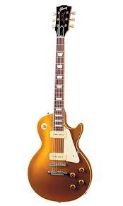 les paul gold top p90