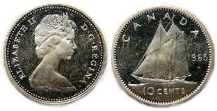 canadian 10 cent coin