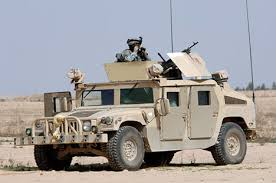 humvee vehicles