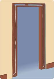 steel door jamb