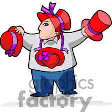 red hat society clipart