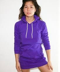 purple american apparel hoodie