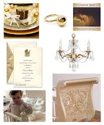golden dinnerware