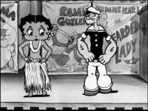 betty boop and popeye