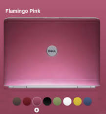 dell pink notebooks