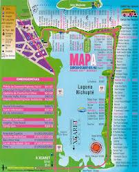 cancun map