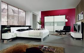 modern bedroom decorating