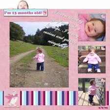 digital scrapbook layouts