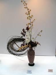 asian flower arranging