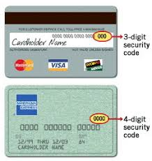 credit card verification value