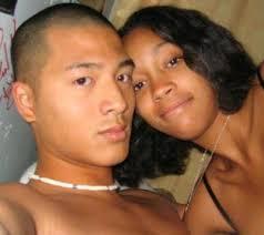 japanese girls black guys