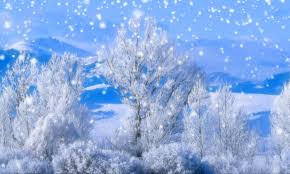 animated winter scene