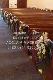flowers for church pews