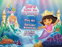 dora save the mermaid